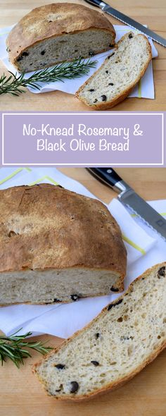 Everyone should know how to make a no-knead loaf - and it is so easy to add different flavours. | www.rachelphipps.com @rachelphipps