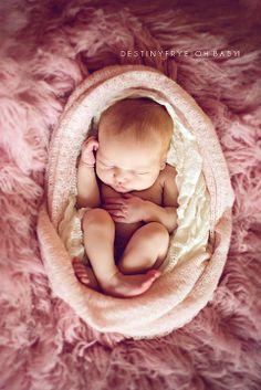 Newborn girl photography  © Destiny Frye Photography www.destinyfryephotography.com