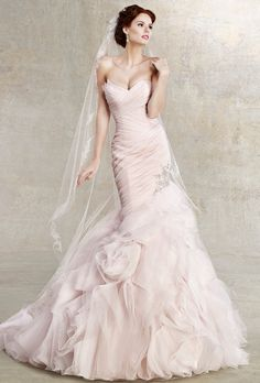 Brides: Kitty Chen Couture :  GINGER....... I still love this dress! ! Just gotta find something like it because couture is too $$$ for our budget!