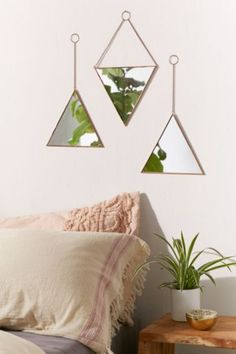 Shop Triangle Mirror Set at Urban Outfitters today. We carry all the latest styles, colors and brands for you to choose from right here.