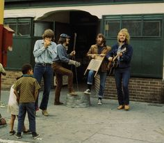 """Creedence Clearwater Revival as """"Willie and the Poorboys"""""""