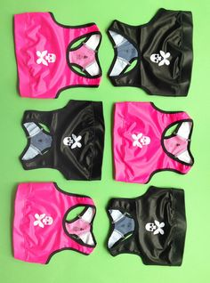 81f5bf25ee583 Betty Designs Womens Pink Bra Top Skull Butterfly - Betty Designs - Betty  Designs Betty Design