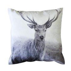 stag photo pillow