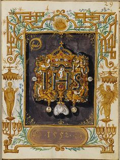 Hans Muelich, The Jewel Book of the Duchess Anna of Bavaria 1555 Hans Memling, Renaissance Jewelry, Jewelry Illustration, Jewellery Sketches, Book Of Hours, Herzog, Prayer Book, Illuminated Manuscript, Bookbinding