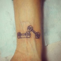 Fitness, Health & Well-Being | 49 Tattoos That Show a Serious Commitment to Fitness | POPSUGAR Fitness Photo 48