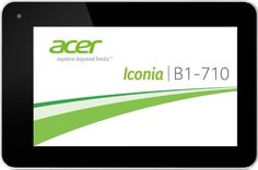 【Réduits】 Acer Iconia Tablette tactile cm) MEDIATEK GHz 8 Go 1024 MB Android Jelly Bean Wifi Blanc Nous allons commander Acer Iconia Tablette tactile 7 Acer, Cheap Desktop, Jelly Beans, Wifi, 1, Android, Html, Don't Care, Tablet Computer
