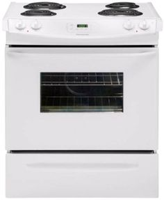 Frigidaire 30 in. Slide-in Electric Range – White Small Appliances, Kitchen Appliances, Paper Folder, Best Refrigerator, Security Equipment, Oven Range, Window Cleaner, Cool Kitchens, Electric