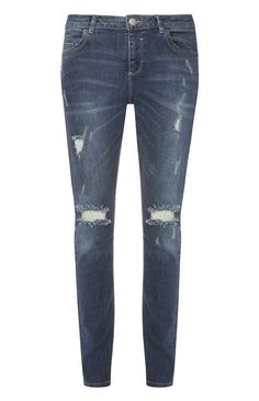 Primark - Mid Blue Relaxed Skinny Jean