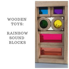 These stackable Shape Blocks captures the attention of children. The Colourful blocks are hollow and filled with beads to produce different sounds. Wooden Toys, Kids Toys, Shapes, Beads, Children, Home Decor, Wooden Toy Plans, Childhood Toys, Beading