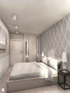 Mieszkanie | Wilanów - zdjęcie od ZAZA studio - Sypialnia - Styl Glamour - ZAZA studio