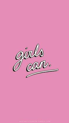 Las niñas pueden.