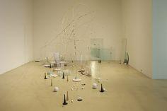 Nikolaus Gansterer - Theoriegehäuse I, (Memoirs of the Blind), installaion view, 2013