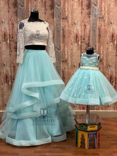 mom n daughter duo Mom Daughter Matching Dresses, Mom And Baby Dresses, Kids Party Wear Dresses, Baby Girl Party Dresses, Birthday Girl Dress, Mom Dress, Dresses Kids Girl, Ball Dresses, Princess Frocks