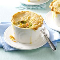 Chickpea Potpies Recipe from Taste of Home -- shared by Annette Woofenden of Middleboro, Massachusetts