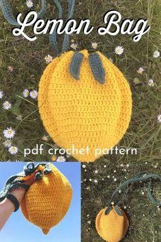 Diy Crochet Projects, Yarn Projects, Crochet Crafts, Yarn Crafts, Knitting Projects, Sewing Projects, Crochet Ideas, Quick Crochet Patterns, Kawaii Crochet