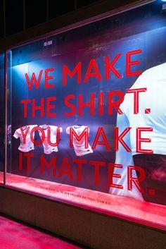 Nike   England Time Kit by Millington Associates   #windowdisplay #retail