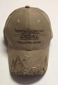 North American Coal Corporation Hat Falkirk Mine Cap Mining Hunting Deer ND Hunt #Legend #BaseballCap