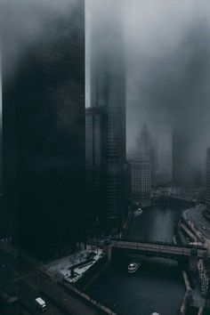 Chicago Looks Dark, Dream-Like & Unbelievably Beautiful in These Photos Urban Photography, Street Photography, Travel Photographie, Looks Dark, Dark City, City Aesthetic, City Landscape, Urban Landscape, Gotham City