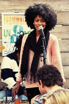 Singer/ Songwriter Mischu Laikah at Het Lokaal in Rotterdamn. <--- idk who this lady is but she is beautiful!!!