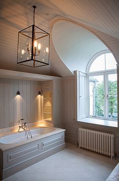 Timber clad bathroom
