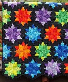 Night Sky Quilt Pattern by Jaybird Quilts at KayeWood.com