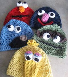 Crochet Hats maybe I could use these for functions!