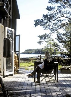 nice structure :: the perfect swedish cabin