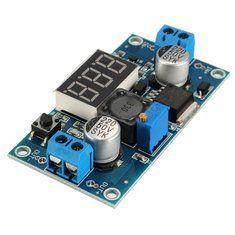 5Pcs LM2596 DC-DC Voltage Regulator Adjustable Step Down Power Supply Module Wit
