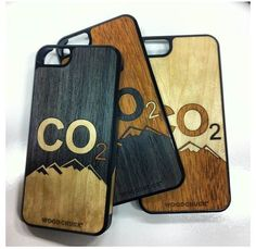 Mountain Cases for our friends at CO2!  #Mountains #PhoneCase