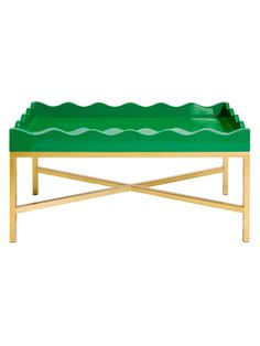 Scalloped Tray Table from Chic Furniture for Her on Gilt