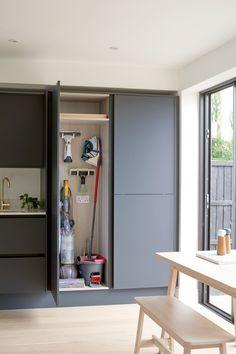 Small Utility Room, Utility Room Storage, Utility Cupboard, Tall Cabinet Storage, Laundry Cupboard, Laundry Storage, Storage Cabinets, Ikea Utility Room, Kitchen Cupboard Storage