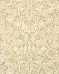 Sunflower Pale Green från William Morris & Co