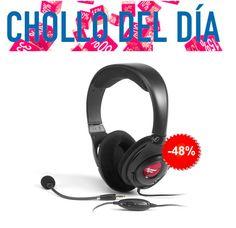 #Chollo! Auriculares Creative con micrófono! >48% Descuento<  Perfectos para #Skype!  http://mzof.es/blog/auriculares-creative-con-microfono-chollo-del-dia/275  #oferta
