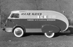 Designed by Brooks Stevens Antique Trucks, Vintage Trucks, Antique Cars, Cool Trucks, Cool Cars, Classic Trucks, Classic Cars, Art Deco Car, Metal Shaping