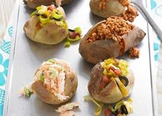 Easy to make and adapt, jacket potatoes make a great midweek meal.