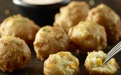 Sweet Corn Fritters - Longhorn Steakhouse