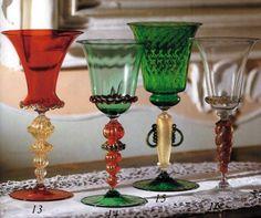 Calici da collezione da Murano store