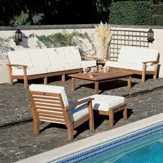 "Barlow Tyrie Monaco 59"" Rectangular Coffee Table"