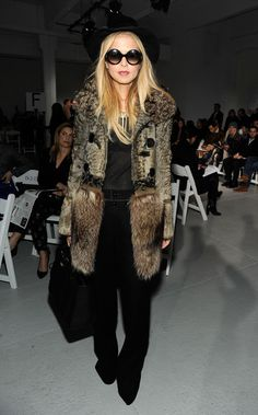 Stylist Rachel Zoe attends the Rodarte fall 2012 fashion show during Mercedes-Benz Fashion Week on February 14, 2012 in New York City.