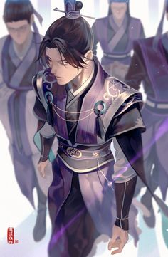 jiang cheng - sect leader of yunmeng jiang sect Anime Love, Anime Guys, Character Inspiration, Character Art, Character Costumes, Anime Manga, Anime Art, Japon Illustration, Susanoo