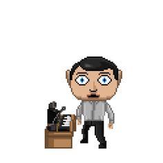 Frank's most likable song ever. Pixel art gif by jonroru @ Tumblr.