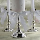 Silver Unity Candle Holders - Party City