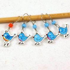 bluebird de bonheur marqueurs lunatiques par needleclicksEtc