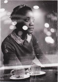 """Analog photography """"Waiting"""" by: Karolina Stonkiene"""