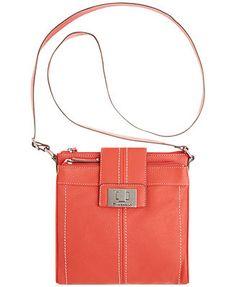 Tignanello Fab Function Leather Crossbody Bag