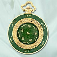 Toliro 14k Gold and Enamel Pocket Watch