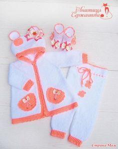 """Комплект на выписку """"Тедди. Розовое счастье"""" и костюм для девочки"""