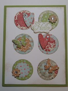 I love to layer multiple items and this card has that. Can't wait to put my own spin on it!