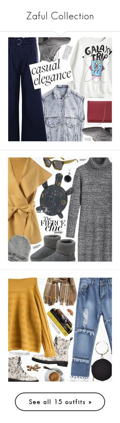 """""""Zaful Collection"""" by pokadoll ❤ liked on Polyvore featuring Helen Moore, Hedi Slimane, M Missoni, French Toast, Urban Decay, Bobbi Brown Cosmetics, Cheap Monday, Gucci, Givenchy and Versace"""