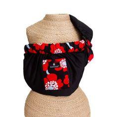 Adjustable Sling Black/Red Poppy Trim -139,90 TL  http://www.bebekform.com/urun/261-70223_Balboa-Baby-Bebek-Tasiyicisi-.html